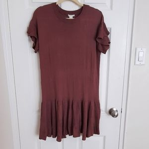 Rose over the knee sweater dress